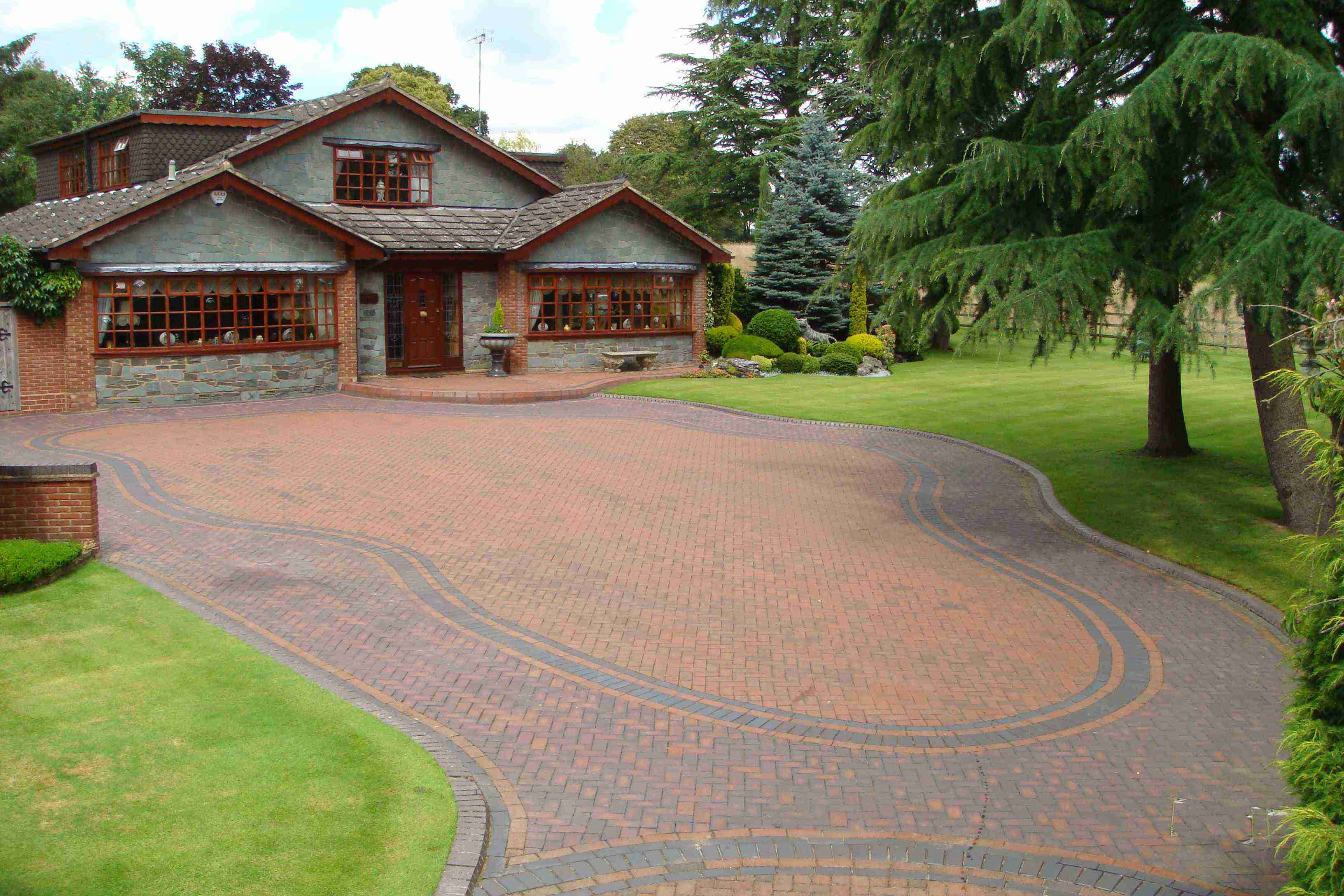 Clay Block Paving